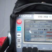 1月24日 大和市下和田にて 地デジアンテナ工事