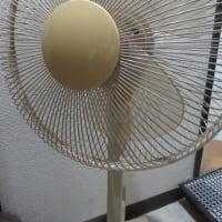 きょうの「捨」・扇風機