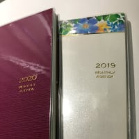 【2020・手帳の下準備(16)】  12月はマンスリー2冊使いです!