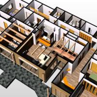 家事動線と暮らしやすさの設計デザインの工夫、見た目のデザインだけでは無くて暮らしやすさの意味を間取り計画に落とし込む人動きのデザインと人の居場所と作業動作。