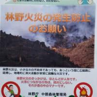 蓼科山荘 双子池ヒュッテ 国定公園内での焚き火は厳禁です