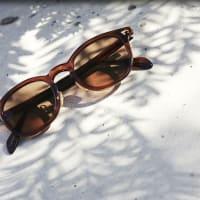 紫外線対策にはサングラス