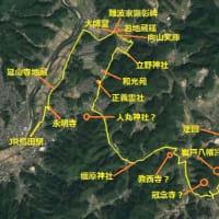 光市 JR島田駅~JR岩田駅史跡巡りウォーキングの下見(2/2)