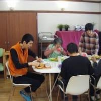 バース食の昼食♪