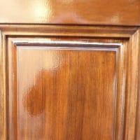 ヤマハ玄関ドア再塗装