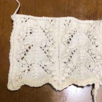 久々編み物報告