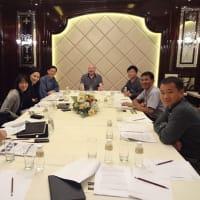 南アジア太平洋スポーツ心理学会 理事会 in マカオ