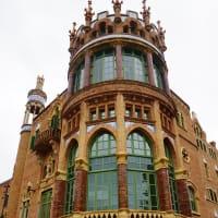 【バルセロナのモデルニスモ建築サン・パウ病院・外観編】ポルトガル(リスボン他)&スペイン(バルセロナ)の旅2019