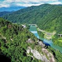 議会全員協議会&宇留賀上空からの風景