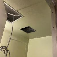浴室換気扇を仕様変更