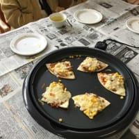 おやつレク♪ピザを作りました(^^♪