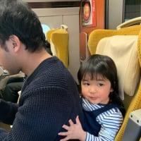栃木から 長男達朗家族がやってきました!!