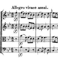 モーツァルト 弦楽四重奏曲 17番 変ロ長調 「狩」