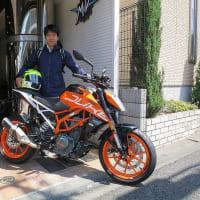 大瀧選手が日常メインバイクとして、KTM 390 DUKEをチョイス!