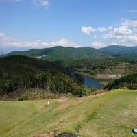 秋晴れのゴルフは最高です