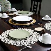 11月リクエストメニュー タルト・ボワのテーブル