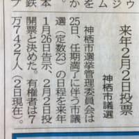 神栖市議会議員選挙