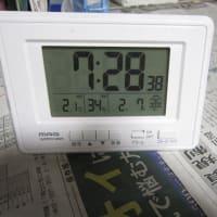 今日は冷えました。(>_<)