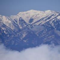 冬の赤城山を往く(その4)黒檜山展望台