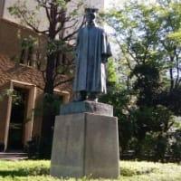 元首相の銅像