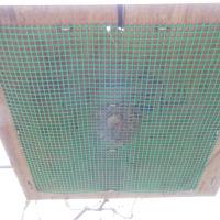 蜂球集合板、設置