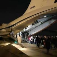 新型コロナ:ロシア、武漢からチュメニへ移送完了