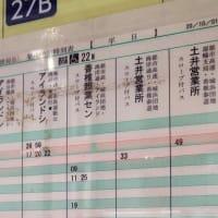 2020年10月1日ダイヤ改正(3)