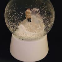 Mineral Art Snow globe