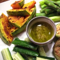 簡単ブイヤベース、野菜のバーニャカウダ風
