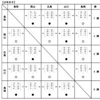 〔大会結果〕第74回 国民体育大会中国ブロック大会