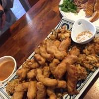 宜蘭名物の『三星青葱』『鴨肉』『ト肉』食べました。
