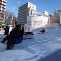 札幌雪祭り (一枚の写真)