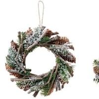 クリスマス ディープスノーリース 16cm 23cm 通販