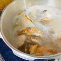 鯛のアラで作る 鯛出汁ラーメン