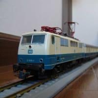 DB(Deutesche Bundesbahn:ドイツ国鉄)111機関車 【HO:FLEISCHMANN    過去帳より再掲
