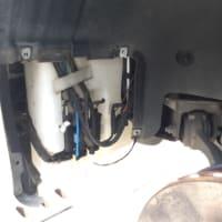 W203 C180の液漏れ