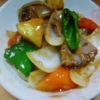 おばさんの料理教室No.3615 焼き豚の酢豚風料理