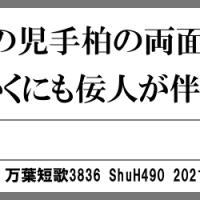 万葉短歌3836 奈良山の3571