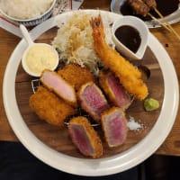 洋食&ビール サル食堂 期間限定 豪華ミックスフライ定食