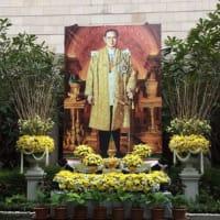 今日は ラマ5世が崩御された日で 祝日です!