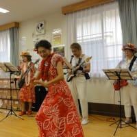バンド演奏&フラダンス