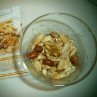 明星チャルメラ バリカタ麺が!簡単自家製ハニーナッツ