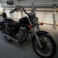 バイク到着
