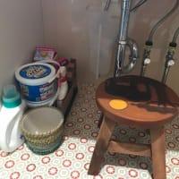 洗面所のお片付け