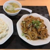 肉と玉ねぎ炒め定食