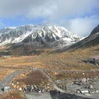 2019/10/22(火) 立山で初冠雪
