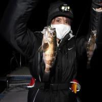 やっとSea BASSも釣れた。めばるは絶好調!