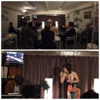 1月31日(金)の夜は、早坂知恵子(vo)さんのライブでした!