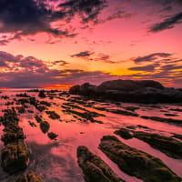 根本海岸 白浜の屏風岩