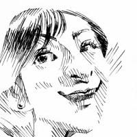 広末涼子(ミリペンでの似顔絵)